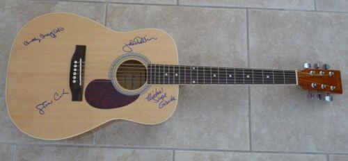 Ozark Mountain Daredevils Signed Autographed Acoustic Guitar PSA BAS Guaranteed