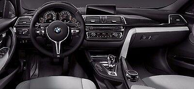 BMW OEM F32 F33 F82 F83 4 Series Carbon Fiber 5 Piece Interior Trim Kit New