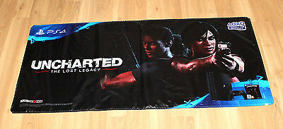 Uncharted  The Lost Legacy Rare Game Store Vinyl Banner Poster Playstation 4