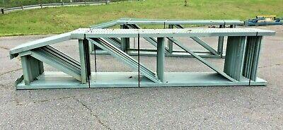 Tear Drop Style Pallet Racking Upright - 42w X 16 Tall  1 Upright