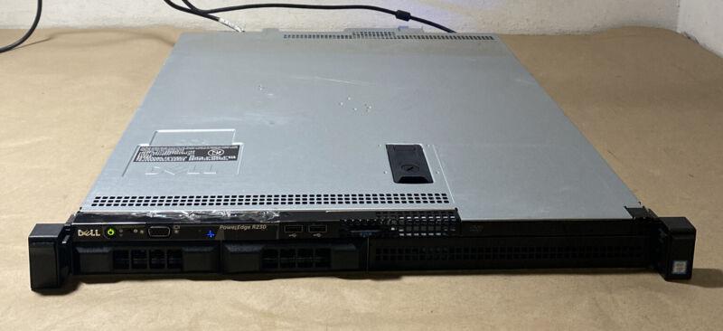 Del PowerEdge R230 E3-1220V5@3.00GHz, 8GB Ram, 2TB Hdd, NO OS