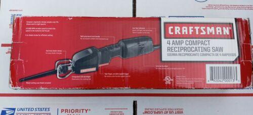 CRAFTSMAN Compact Reciprocating Saw 4 Amp Part No. 917291 RA
