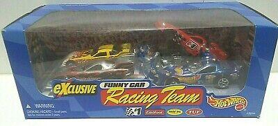 1997 Hot Wheels Racing Team Funny Car 4 Car Pack HTF