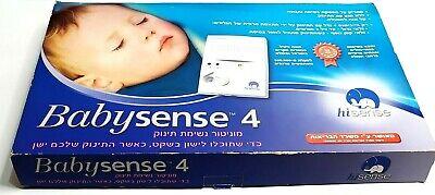BabySense 4 / IV HiSense Baby Infant Sleep Movement Alarm Safety Monitor Protect comprar usado  Enviando para Brazil
