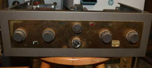 Eico Model HF81 Stereo Vacuum Tube Audio Amplifier for Restoration