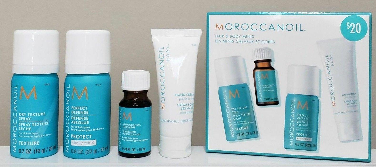Moroccanoil Hair & Body Minis Travel KIT Set