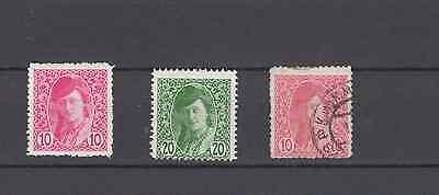 YUGOSLAVIA 1919 NEWSPAPER STAMPS MINT & USED