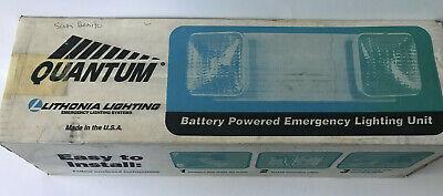 Lithonia Lighting Elm2 Quantum 2 Light Battery Powered Emergency Lighting Unit