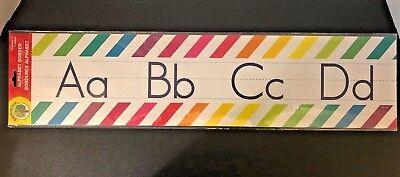 Rainbow Bulletin Board (Teacher Resource: Manuscript Alphabet Bulletin Board Set Rainbow)