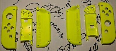 Genuine Nintendo Neon Yellow (L) & (R) Joy Con Shells