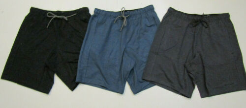 EDDIE BAUER Lounge Shorts Drawstring Cool Gray Black Captain Blue M L XL XXL $50