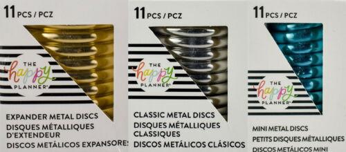 Me & My Big Ideas Happy Planner Metal Discs Expander Classic Mini - YOU Choose!