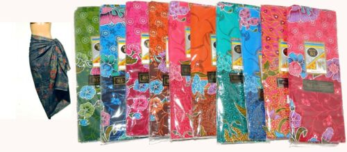 BEAUTIFUL Batik Skirt Sarong Sinh Thailand Laos Wrap Style-One Size-Choose Color