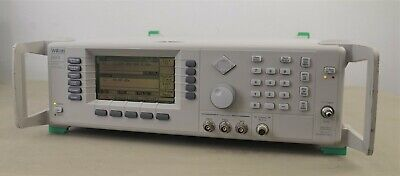 Wiltron Anritsu 68347b Synthesized Signal Generator 10mhz To 20ghz Opt 2a 11 16