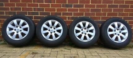 "15"" Genuine Holden Opel Wheels, center bore: 65.1 mm, 5x110"