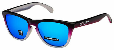 Oakley Frogskins Asia Sunglasses OO9245-8154 Black Pink Fade | Prizm (Oakley Frogskins Blue)