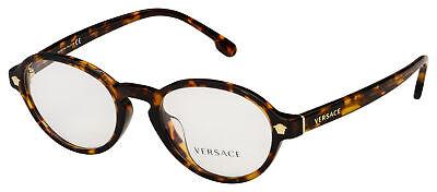 Versace Eyeglasses VE 3259A 5276 52 Havana Frame [52-20-140]