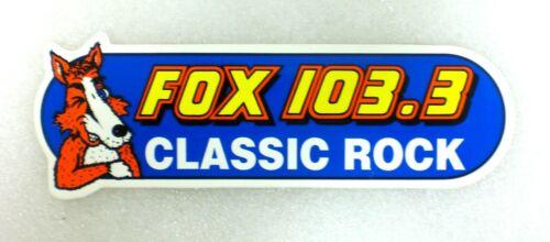 Vintage 103.3 The Fox Classic Rock N