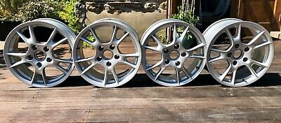 """Porsche Boxster 987 Set Of 4 17"""" Alloy Wheels 6.5J x 17 ET55, 8J x 17 ET40"""