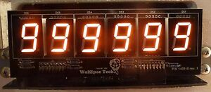 6-Digit DIY Display Kit for Bally/Stern Pinballs - Wolffpac - Orange digits