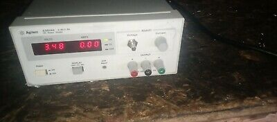 Agilent Hp E3614a 0-8v 0-6a Variable Dc Power Supply