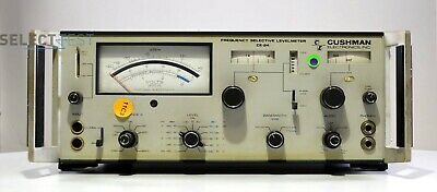 Cushman Electronics Ce-24 Frequency Selective Level Meter Ref161