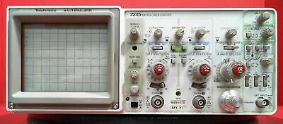 Tektronix 2235 Anusm-488 B084375 100 Mhz Oscilloscope