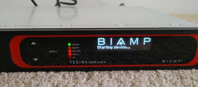 Biamp Tesira Forte AVB TI Pro Audio