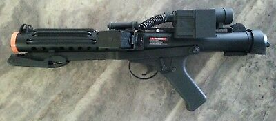 STORMTROOPER BLASTER E-11 REPLICA STAR WARS PROP FUNCTIONAL AIRSOFT RIFLE NEW. - Star Wars Stormtrooper Blaster Replica