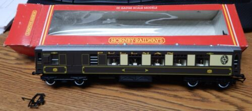 HORNBY R233 PULLMAN THIRD PARLOUR CAR USED IN BOX OO HO SCALE GREAT SHAPE LQQK