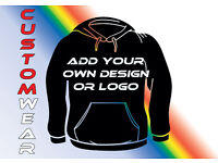Promotional Clothing, Customised T-Shirt, Sweatshirts, Hoodies, Caps, & Bag printing services