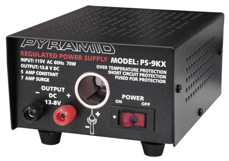 PYRAMID PS9KX POWER SUPPLY FULLY REGULATED