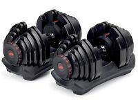 Bowflex 1090 dumbbells