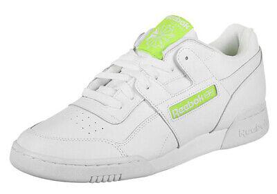 uk size 5.5 - reebok classic workout plus mu leather trainers -...