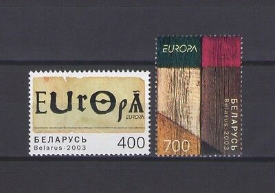 BELARUS, EUROPA CEPT 2003, POSTER ART, MNH