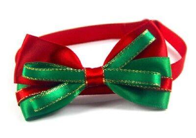 noeud papillon chien ou chat rouge déguisement costume cérémonie fêtes de noël - Kostüm Ceremonie