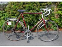 Raleigh Routier vintage racing bike NOW SOLD