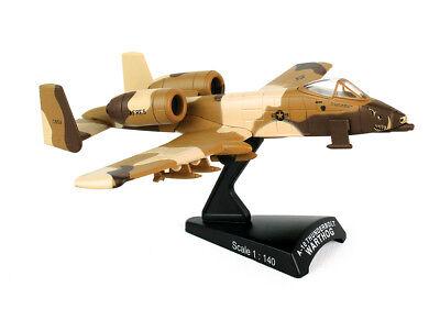 DARON 1/140 USAF A-10 Thunderbolt Warthog Peanut Diecast Model FREE SHIPPING ()