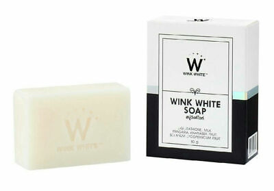 NEW WINK WHITE GLUTA PURE SOAP FACIAL BODY WHITENING BEAUTY SKIN ANTI - White Pure Soap