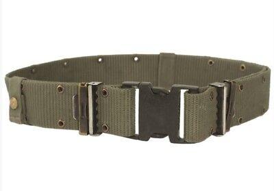 Alice Bekleidung (US Army ALICE LC2 Lochkoppel Equipment Belt Gürtel Koppel OD Green oliv)