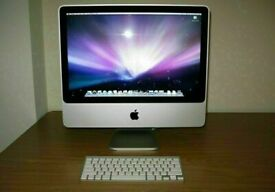 Apple iMac 20' 2.4Ghz Core2Duo 4gb 320GB HD Logic Pro X Ableton Reason Pro Tools Waves FM8