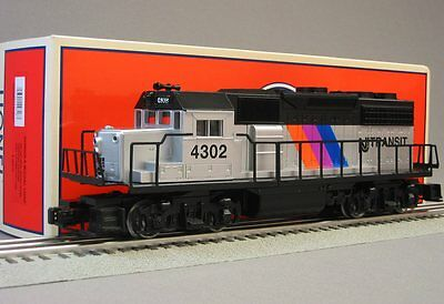LIONEL NJ TRANSIT GP40 DIESEL TRAINSOUND locomotive engine ...