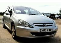 2003 Peugeot 307 HDI 2.0L *New MOT* *FSH*