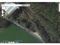 land for sale two acress Tunbridge wells situated on its own with water & it's own access