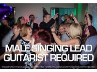 Wanted: Male singer lead guitarist by busy Staffordshire professional Wedding & Party band PERMANENT