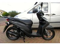 Honda Vision 110 2014 very low miles. Immaculate learner legal twist & go.