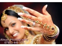 Asian Wedding Photography & Videography special offer 25% off photos, video, albums, photoshoots