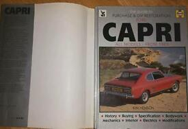 Ford Capri Restoration Book
