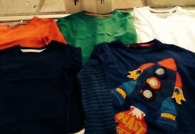 5 long sleeved T shirts to fit age 2/3 years