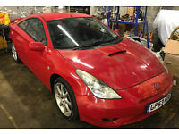 toyota celica t sport 2003 moted 190HP 6 speed manual make ideal track car knockhill